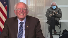 Bernie Sanders says mitten maker 'overwhelmed' by all the attention his inaugural meme has created