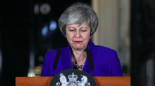 Theresa May 'disappointed' that Labour refuse to accept Brexit talks invite unless no-deal is off the table