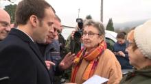 """""""Pourquoi j'ai 100 euros en moins?"""": quand Macron tente d'expliquer à un retraité la baisse de sa pension"""