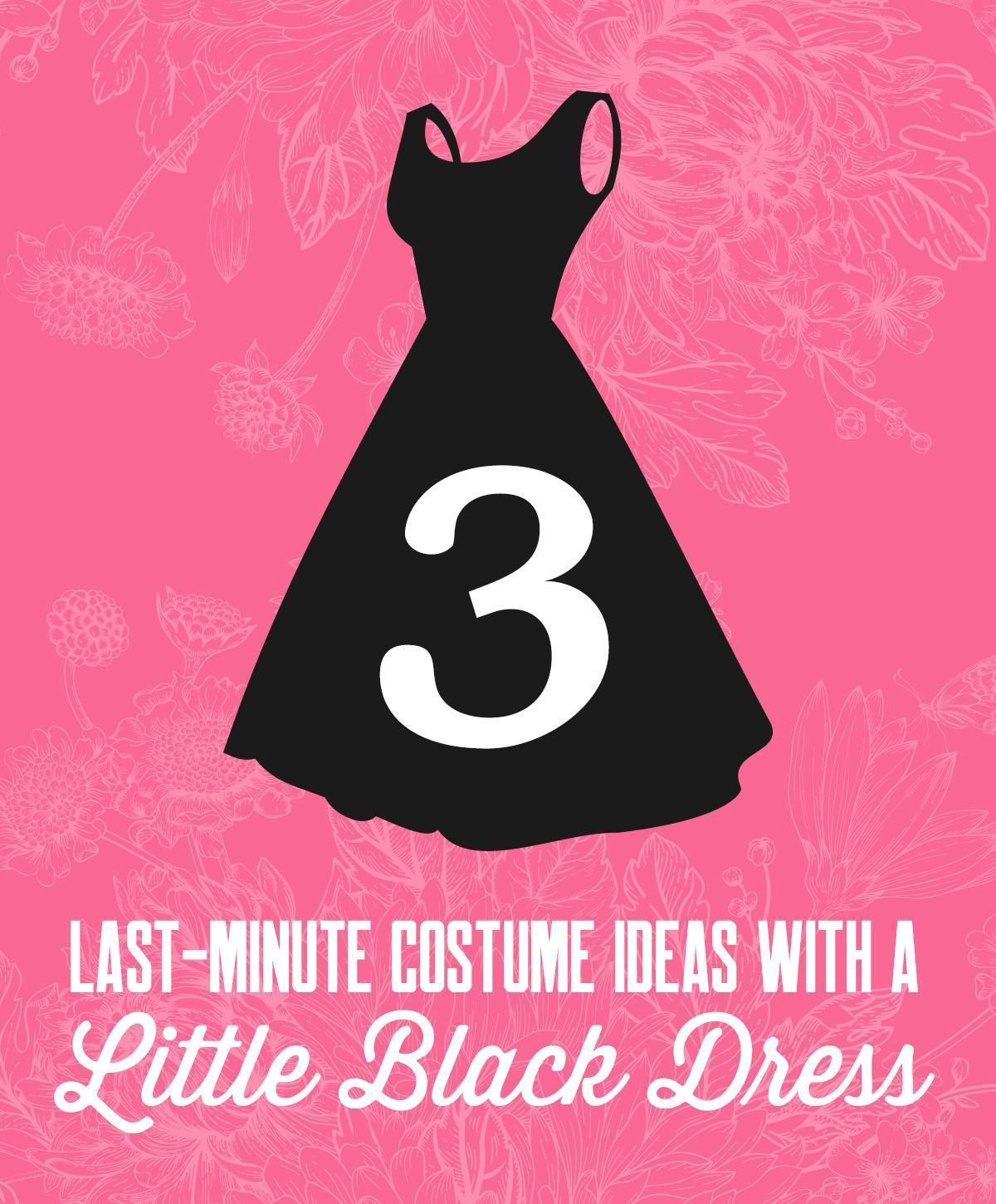16 Last-Minute Costume Ideas With a Little Black Dress
