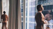 Jorge Javier Vázquez incendia las redes con un desnudo integral