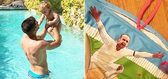 Wife exposes Tim Paine's hilarious swimwear choice