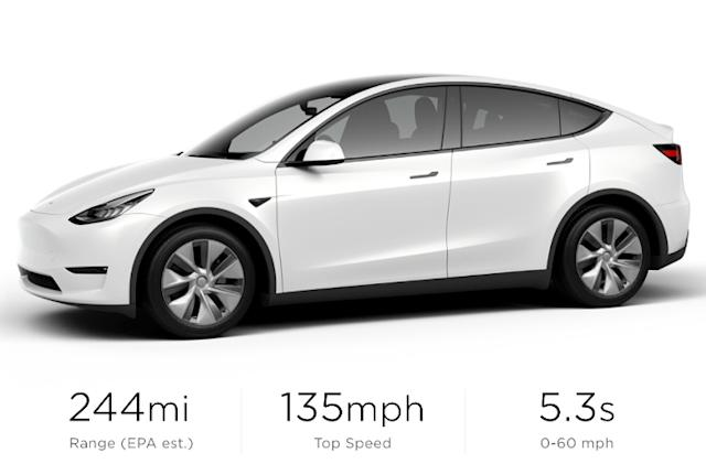 Tesla begins selling its cheapest Model Y yet