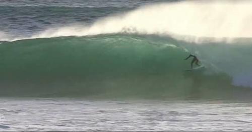 Surf - CT - Vidéo : le «10 points» incroyable de Sebastian Zietz ce mercredi à Margaret River