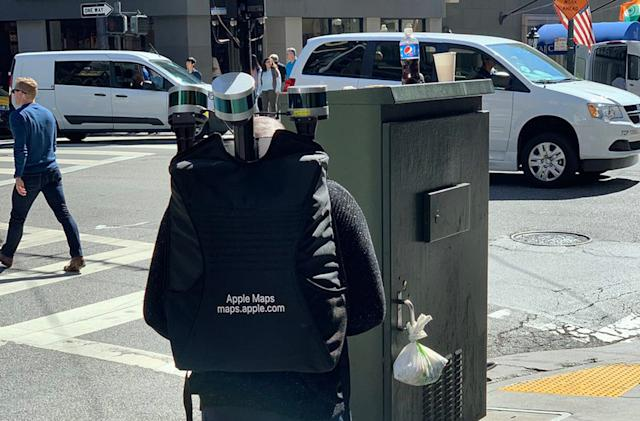 Apple is using backpacks to collect map data in San Francisco