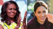 "Michelle Obama Sends Her Best Advice to Meghan Markle to ""Maximize Her Impact for Others"""