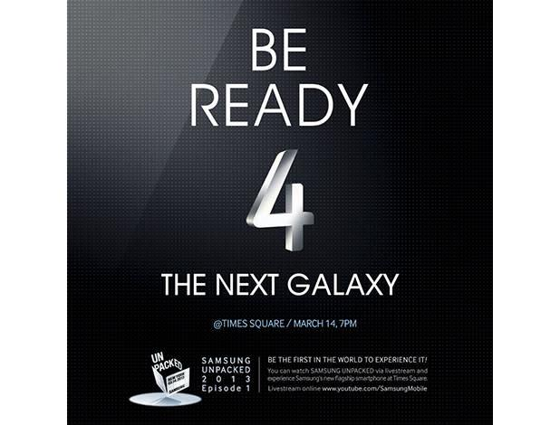 Samsung invites public to Times Square for its Galaxy S IV unveiling