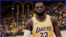 LeBron James is highest rated player in NBA 2K21 at 98