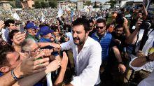 Reapareció Salvini y prometió una dura resistencia al nuevo gobierno