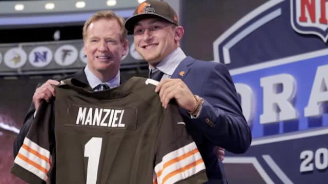 Johnny Manziel Ready to 'Get the Ball Rolling'