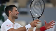 DQ forgotten, Djokovic leaves French Open foe 'suffocated'