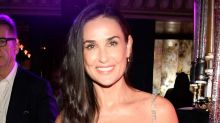 Demi Moore Reveals She's Missing Her Two Front Teeth