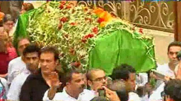 Jiah Khan makes her last journey