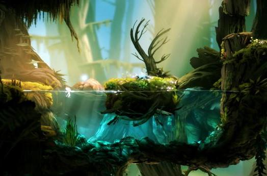 Metroid meets Super Meat Boy in 'Ori and the Blind Forest'