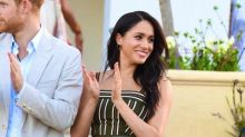 Meghan Markle recycles previous royal tour dress for Cape Town evening reception