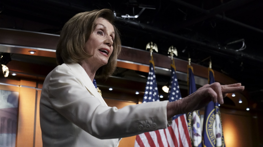 Reporter's Trump question riles up Nancy Pelosi