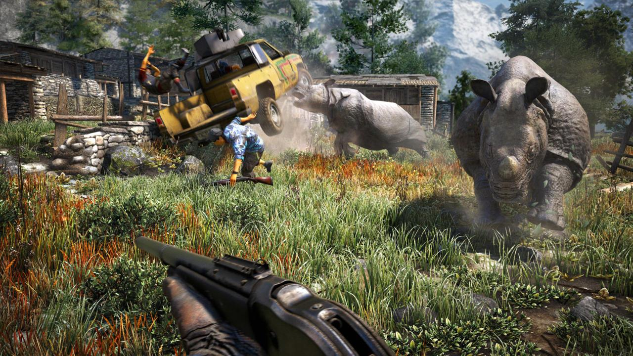 New Far Cry 4 Trailer Welcomes You To Kyrat S Lowlands