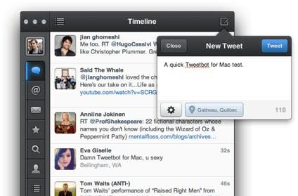 Tweetbot for Mac arrives as free alpha, we give a quick hands-on