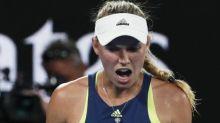 Tennis - WTA - Doha - Doha : Caroline Wozniacki s'en sort face à Angelique Kerber et file en demi-finale