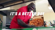 """Shaquille O'Neal Surprises Fans in New Papa John's """"Better Day"""" Campaign"""