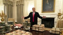 Nutritionists weigh in on Trump's fast-food order for Clemson football team: 'This sets a bad example'