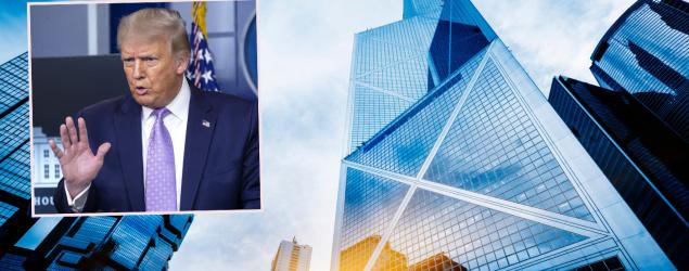 hkyahoo - 指撤特殊待遇後香港金融中心不再成功 特朗普:會乾枯失敗
