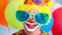 Sad face: New Zealander takes clown to redundancy meeting