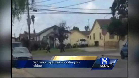Video shows Salinas police shoot man armed with shears