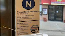 San Francisco Taking Down Sassy 'Transphobia Prohibited' Signs On Mass Transit