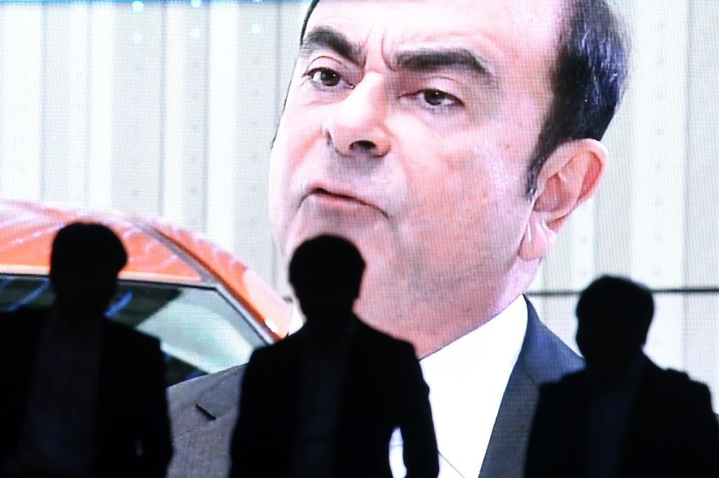 """Ghosn has denounced his downfall as a Nissan """"plot"""" and voiced fears he might not receive a fair trial (AFP Photo/Toshifumi KITAMURA)"""