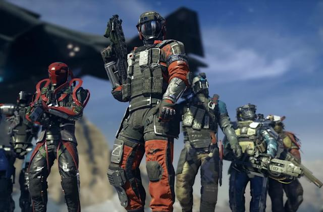 Next 'Call of Duty' lets you craft guns and call down guard bots
