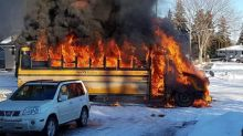 Valentine's Day a fiery reminder for Saskatoon school bus driver