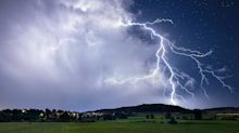 Man dies after being struck by lightning as huge storm system engulfs NSW