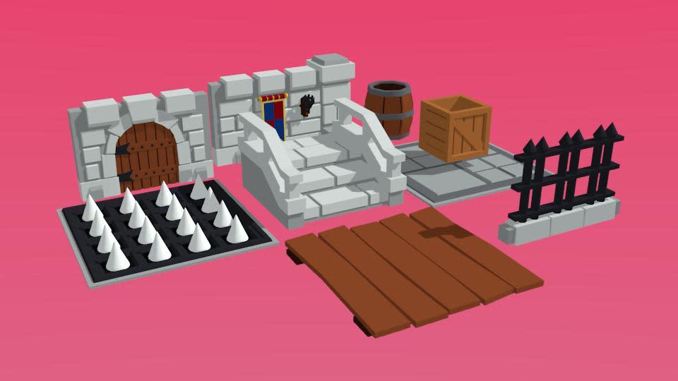 開發者也放出未來遊戲中的一些物件。(圖源:Twitter/SquareAnon)