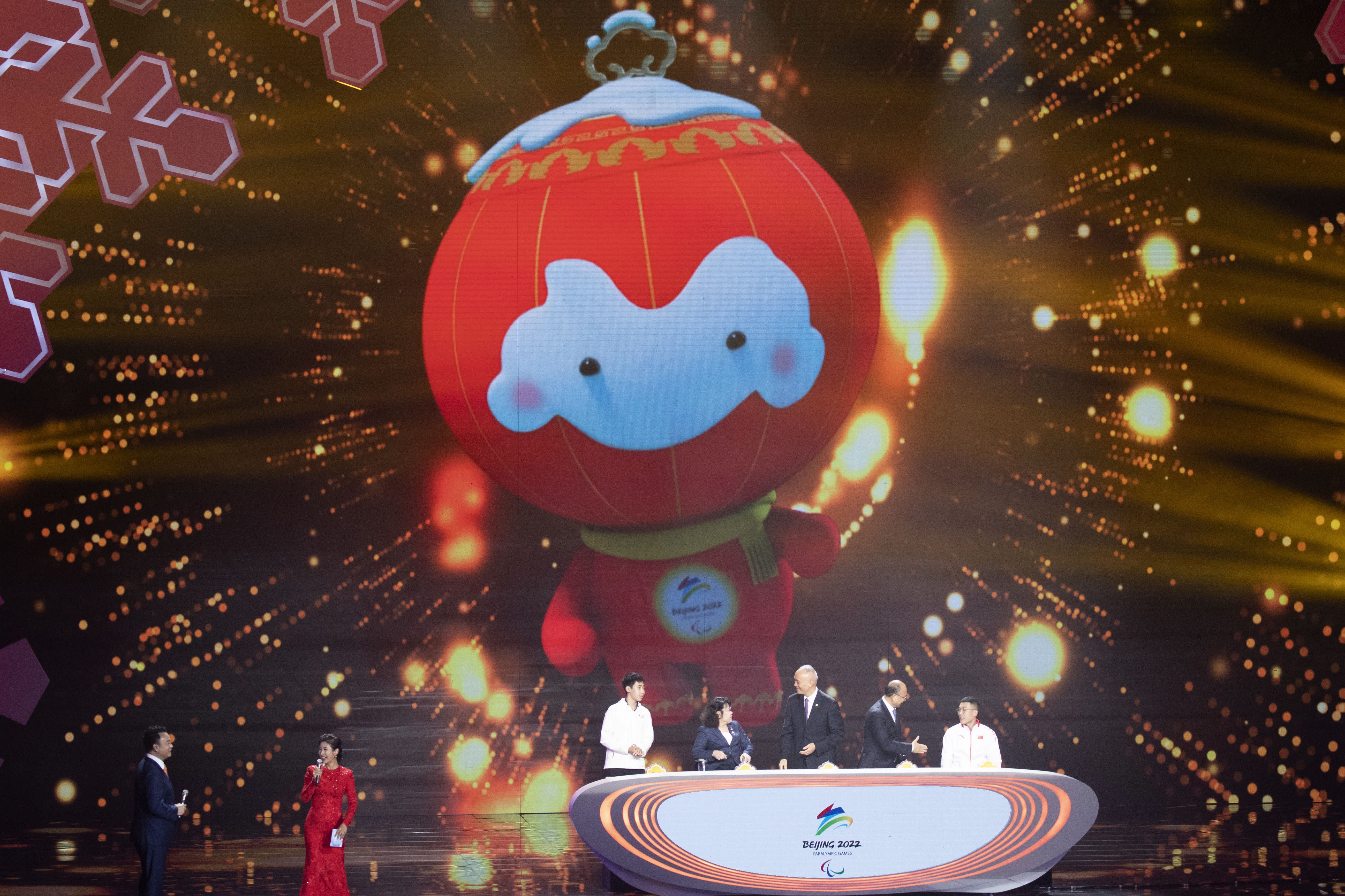Winter Paralympics 2020 Events.A Panda Is The Mascot For The 2022 Beijing Winter Olympics
