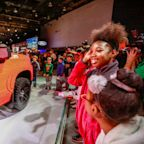 Chevrolet built this 2019 Silverado truck out of 335,000 LEGO pieces