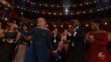 Find out why Meryl Streep got a standing ovation at The Oscars