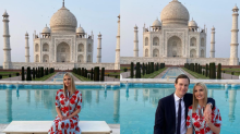 Ivanka Trump 'Awed' by the Grandeur and Beauty of the Majestic Taj Mahal