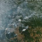 Amazon rainforest fires rise to record number, smoke visible from space