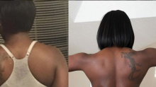 This woman transformed her back in 9 months