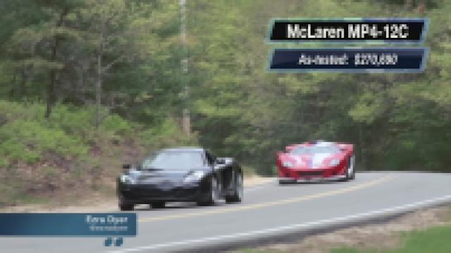 McLaren MP4-12C vs. Factory Five GTM: Motoramic TV