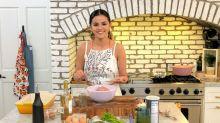 Selena Gomez's kitchen style includes the prettiest $34 apron - and it's still in stock