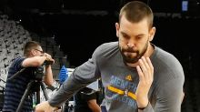 Marc Gasol's coach says he has the 'green light' to shoot, which the Grizzlies need