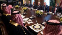 Trump saúda 'grande amizade' com príncipe herdeiro saudita
