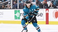 Sharks' Karlsson to miss remainder of season with broken thumb