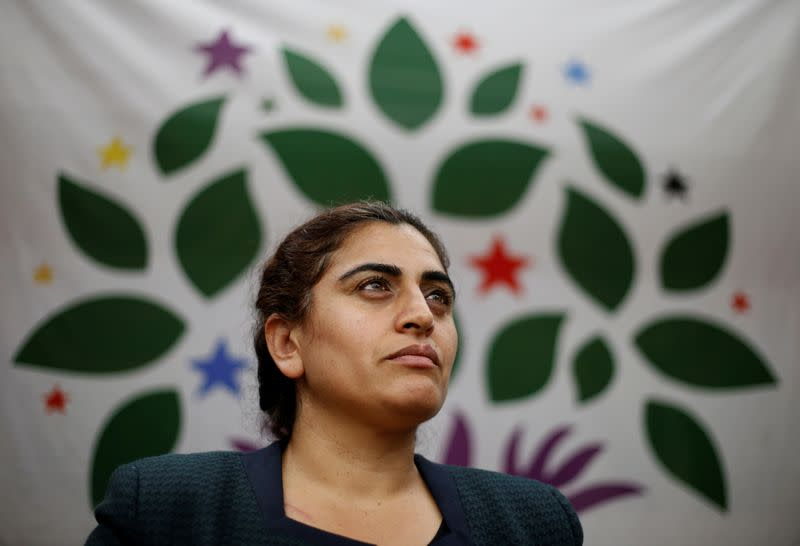 Jailed Kurdish politician handed another year for insulting Turkey's Erdogan