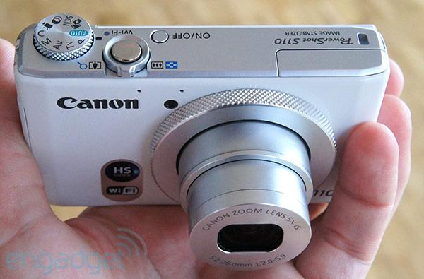 Canon PowerShot S110 packs WiFi and touch-enabled display (hands-on video)