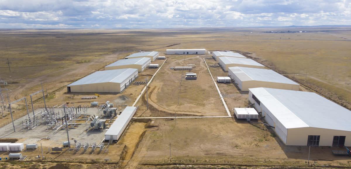 Bitmain bude mít své ASIC ve 180megawattovém datovém centru v Kazachstánu