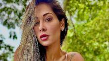 """Mayra Cardi comenta relação com Arthur Aguiar: """"Nem sonhar em beijar"""""""