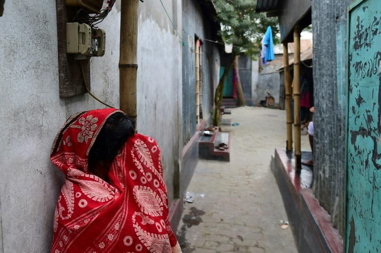 Daulatdia is one of about 12 legal but frowned upon brothel areas operating in Bangladesh (AFP Photo/Munir UZ ZAMAN)
